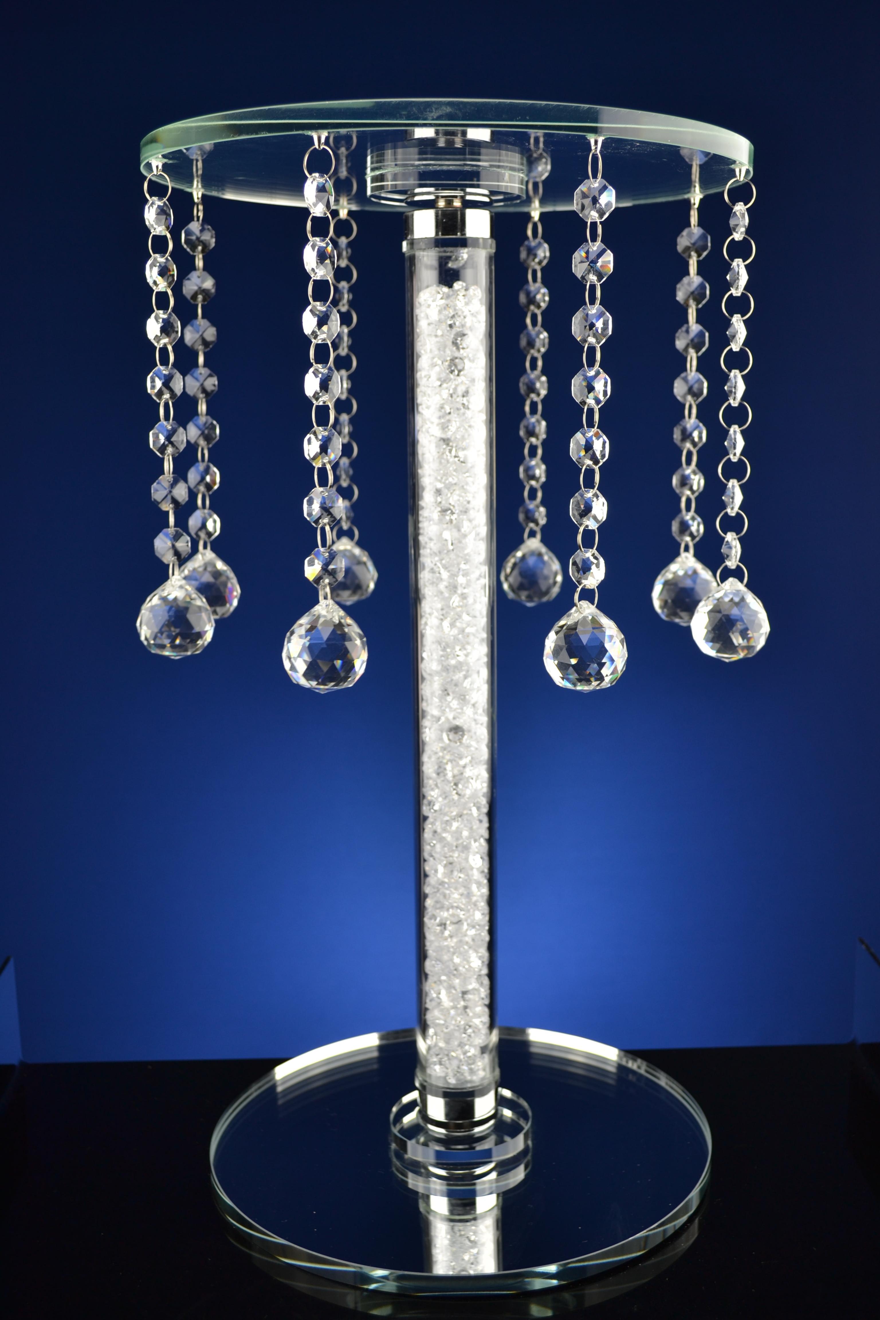 Strandtas Extra Groot : Tafeltje met pegels rond extra groot crystal de