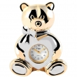 Flair Miniature klok - Teddy - afmeting 6,6 cm
